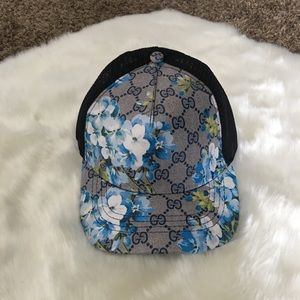 Gucci blooms hat